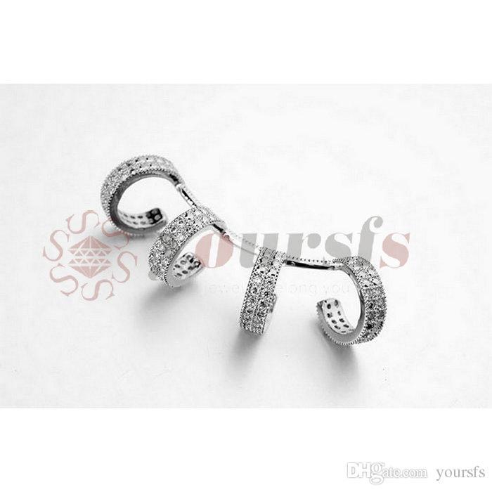 Yoursfs Cuff Ear Clip Punk Rock Wrap Earrings No piercing Women Party Jewelry