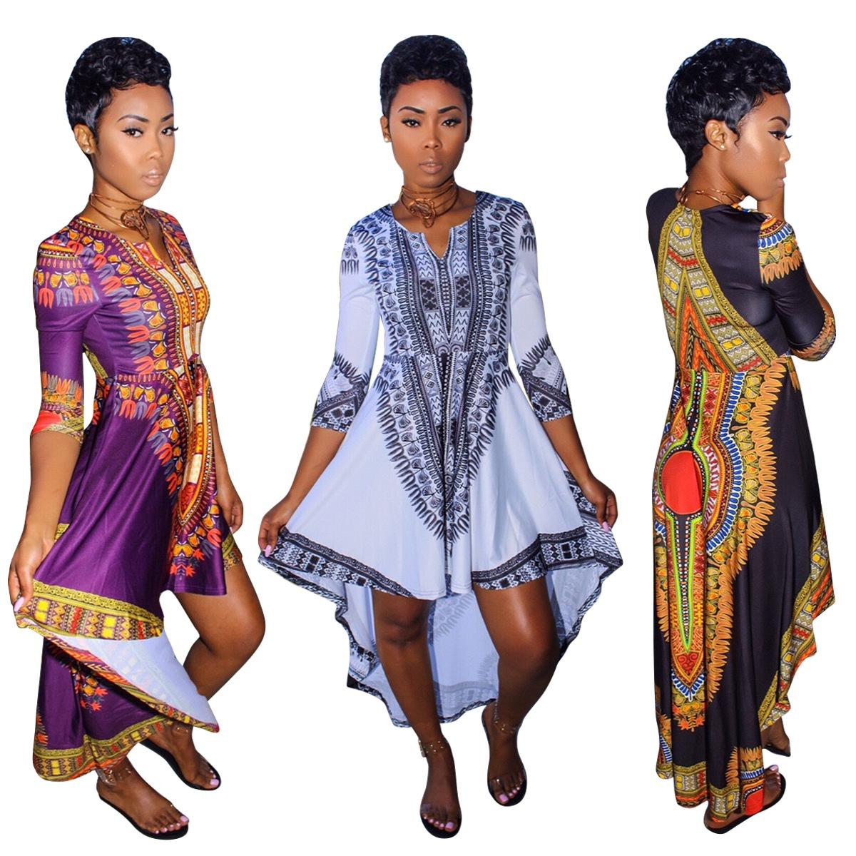 African Women Clothing African Dresses Traditional New Cotton