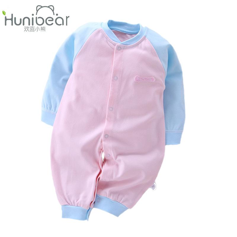 eaa773a09fd1 2019 2017 New Born Baby Girl Clothes Long Sleeves Spring Autumn 1 12 Months  Jumpsuit Newborn Boy Clothing Infant Toddler Baby Rompers From Zzs trading