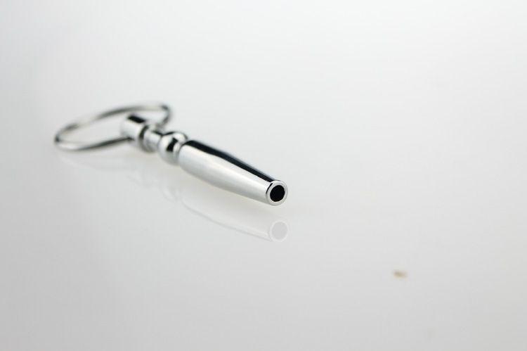 Shiping libero !! 10.5 * 80mm hollow penis plugs in acciaio inox catetere suoni Prince Wand uretrale dilatatori prodotti del sesso dell'uretra gli uomini