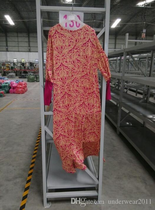 Muslimische Milch Seide Kleid Frauen Kleider islamische Kleidung arabia Kleidung langes Kleid Frauen weiche D153
