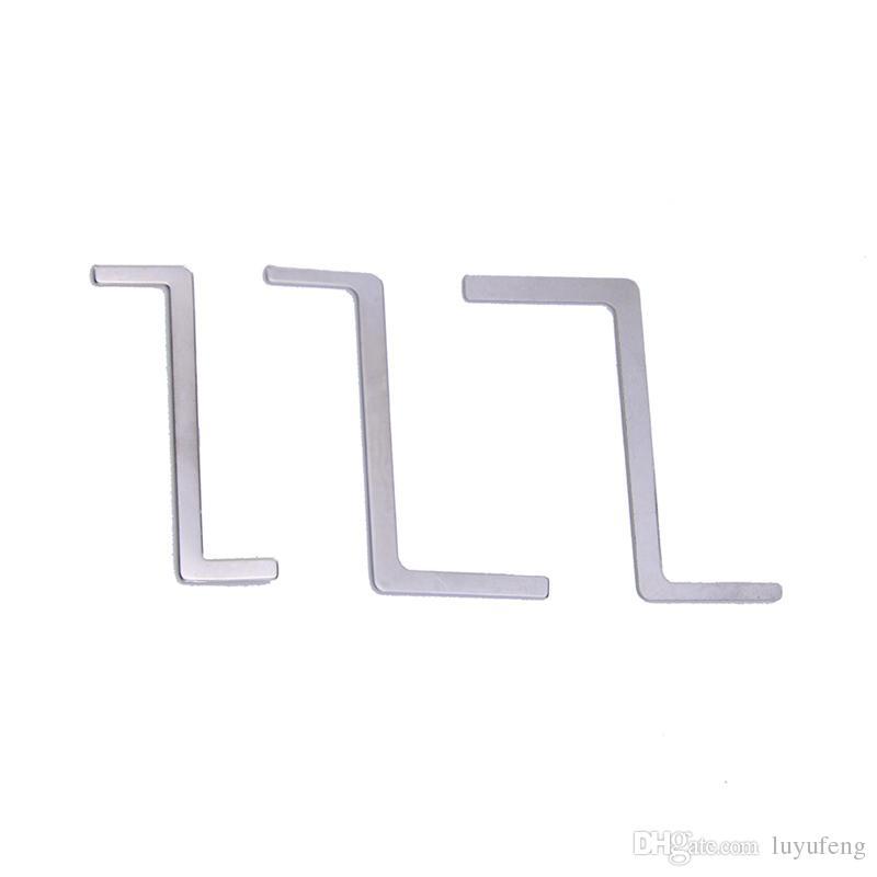 Hight Qualidade Em Aço Inoxidável Chaves de Tensão Lock Picks Lockpick Serralheiro Abridor de Bloqueio Rápido