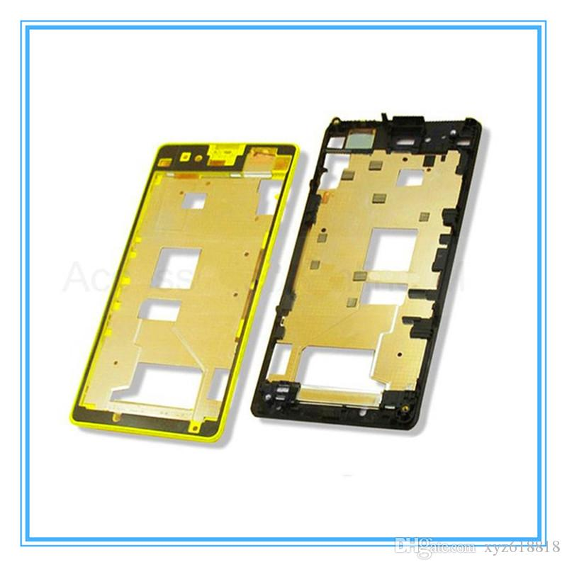 Front Middle Frame Bezel Battery Back Housing Cover For Sony Xperia Z1 Compact Mini D5503