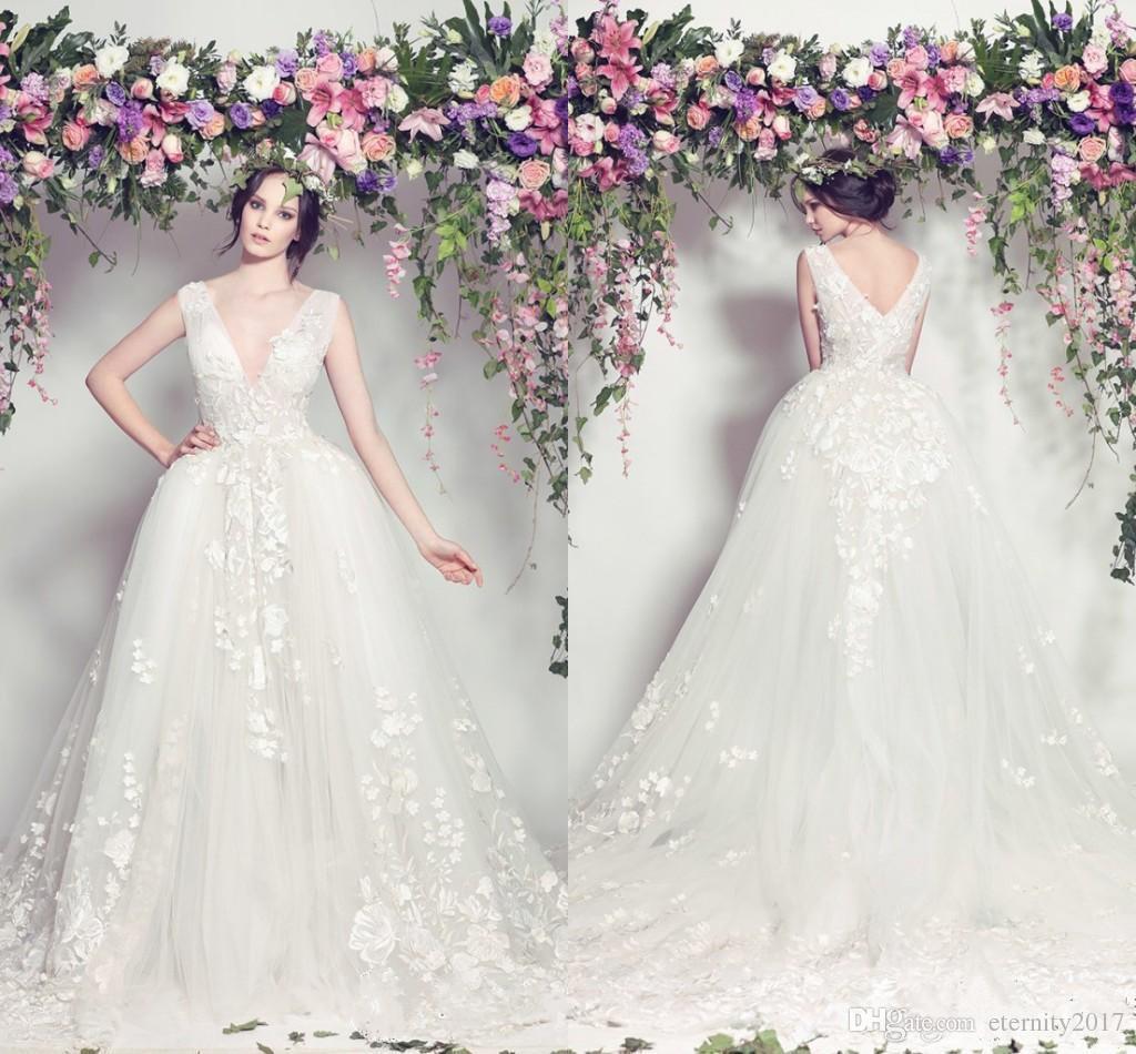 Vestido De Casamento Estilo Sereia Elie Saab Wedding Dresses 2017 ...