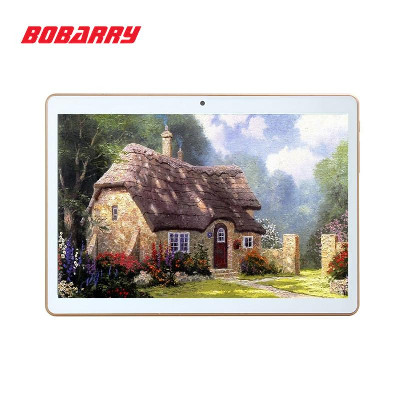 Großhandel BOBARRY Tablet PC 10 Zoll Octa Cores MTK6592 1280X800 RAM 4GB ROM 64GB 5.0MP 3G Telefonanruf Dual-SIM-Karte Tablets PCS Android5.1