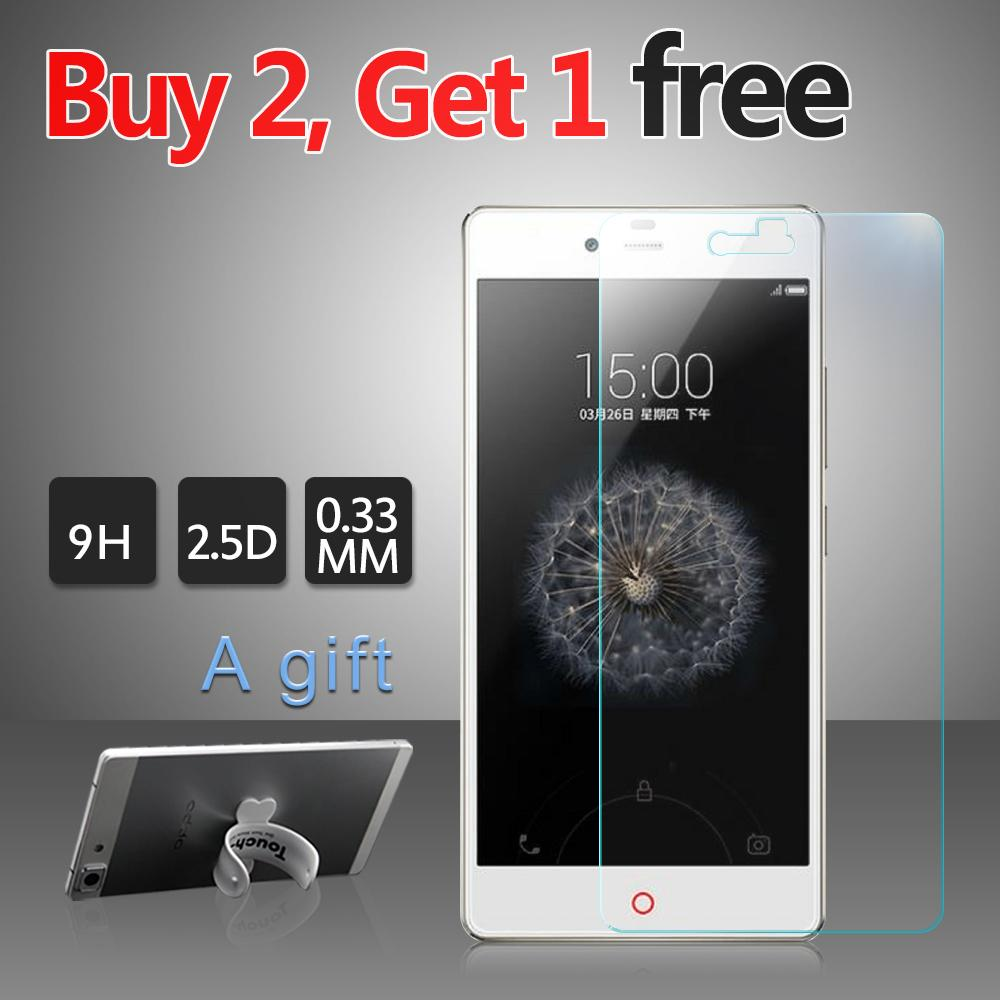 Wholesale Screen Protector Tempered Glass For Zte Nubia Z9 Max 9h 033mm Anti Impact Antifingerprint Protective Film A Gift Safety
