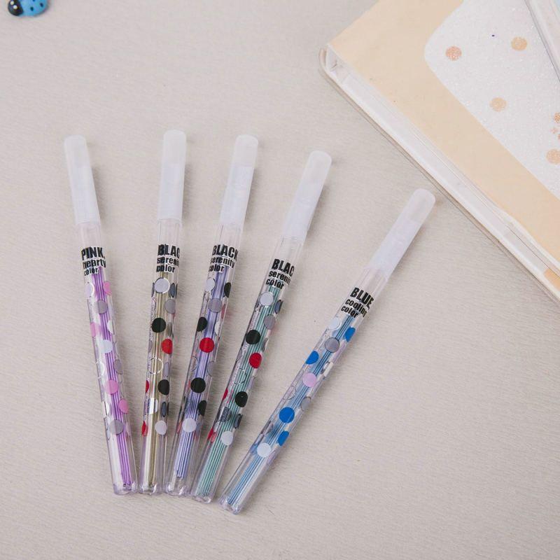 2019 wholesale 2b pencil leads 0 5 0 7mm kawaii mechanical pencil