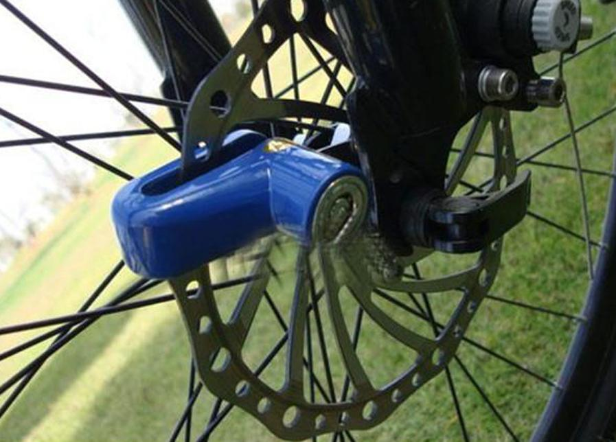 Anti theft Disk Disc Brake Rotor Lock For Scooter Bike Bicycle Motorcycle SafetyLock For Scooter Motorcycle Bicycle Safety