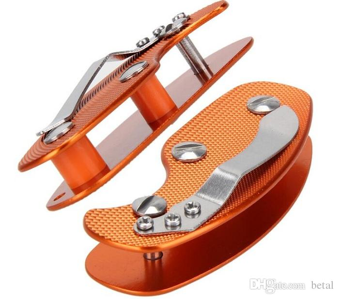 Keychain EDC Multi Tool Chiavi Pieghevoli Chiave Clamp Key Organizer Holder Tasca in alluminio Key Bar EDC di sopravvivenza