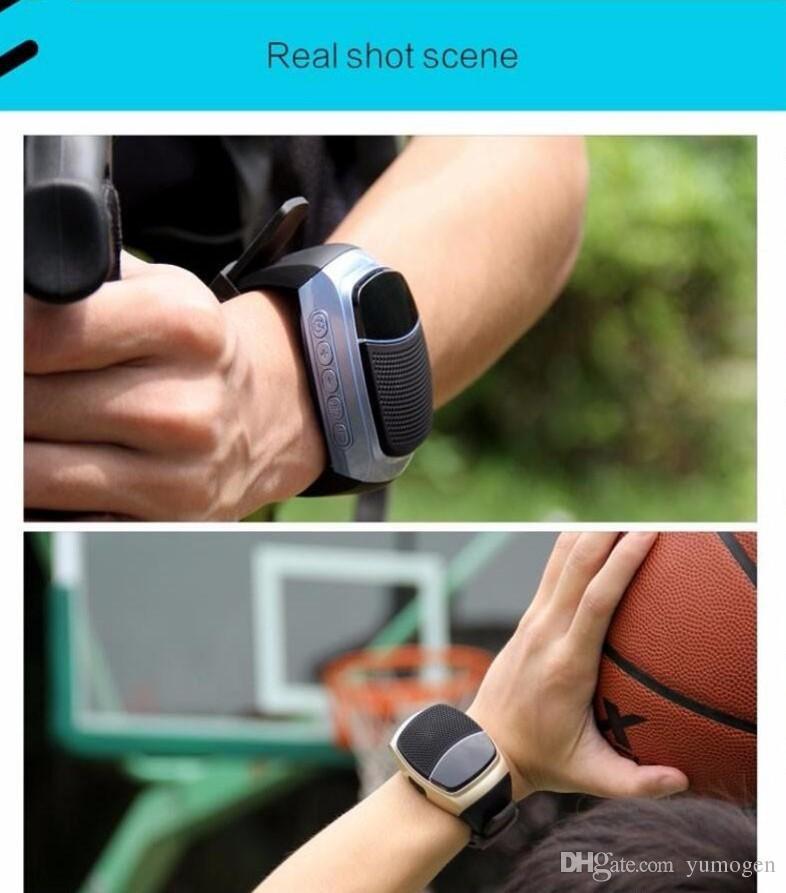 B90 Smart Watches Stopwatch Alarm Clock Sports Music Watch Hands-free FM Radio Self-timer Anti-Lost Alarm Bluetooth Speaker