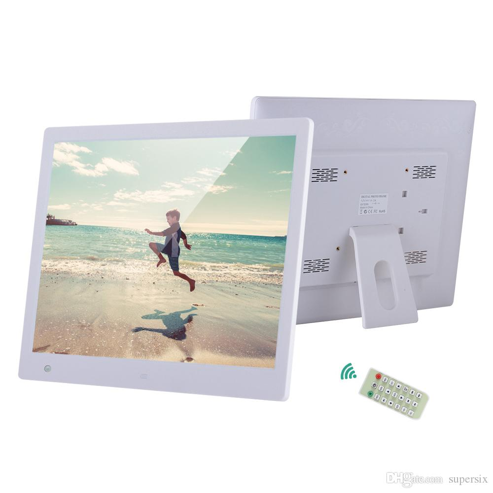 16 LED Digital Photo Frame 1600*1200 Support Multi-Languages Audio ...