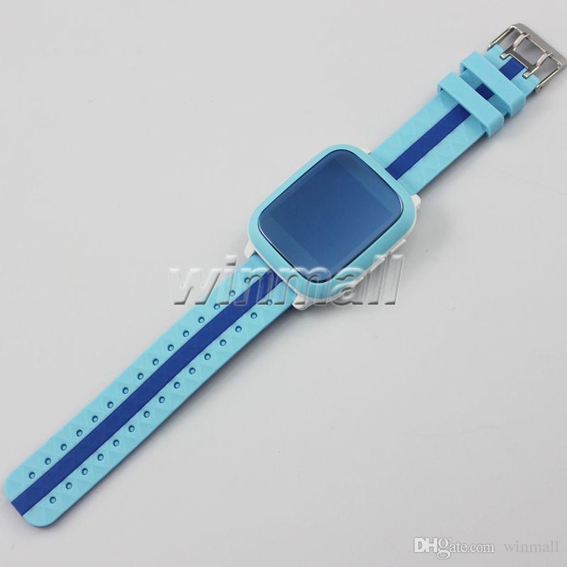 DS18 Kids Smart Watch bambini Regalo di Natale GPS Tracker SOS Emergenza Anti-Lost GPRS / GSM / WiFi Posizionamento Monitor remoto