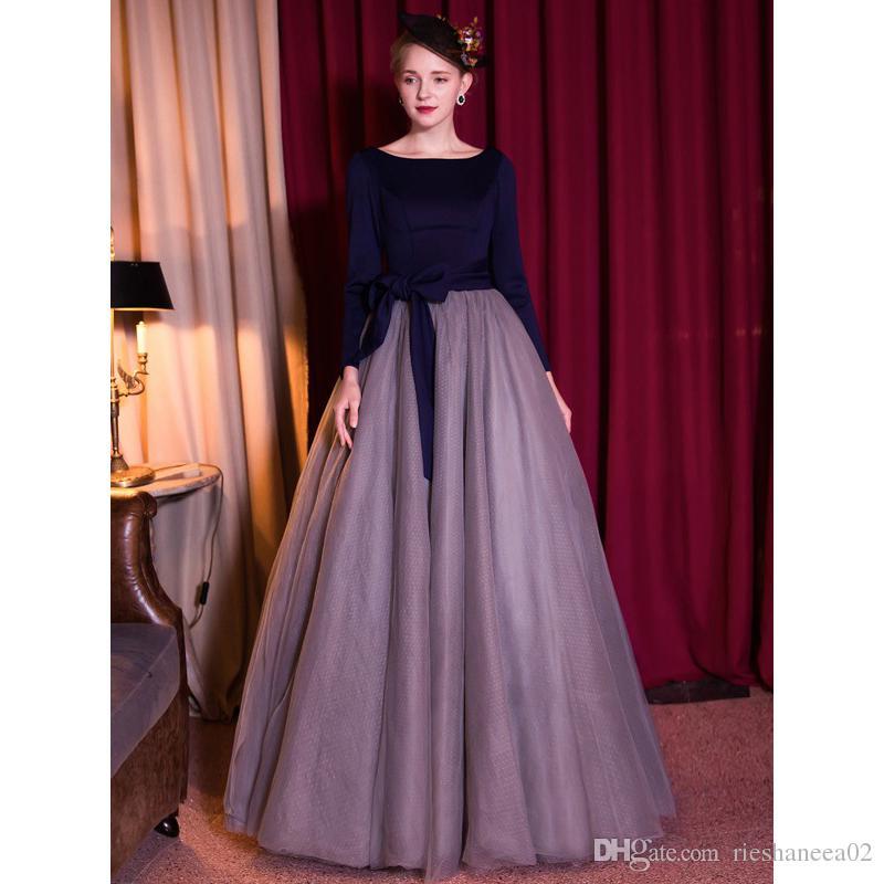 Magnífico Vendimia Vestidos De Fiesta Negro Motivo - Vestido de ...