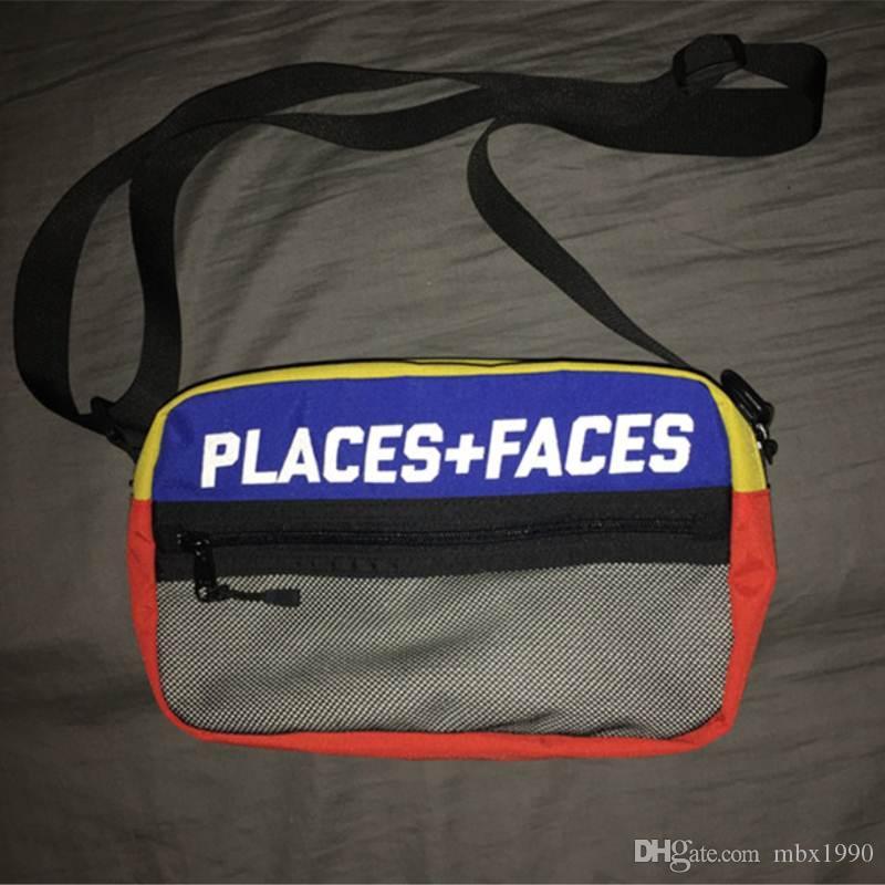 هوب جديدة PF الصليب الجسم هوب حقيبة في الهواء الطلق حزمة الصدر حزمة للجنسين فاني حزمة الخصر الرجال حقيبة قماش حقائب الكتف P + حقائب F رسول