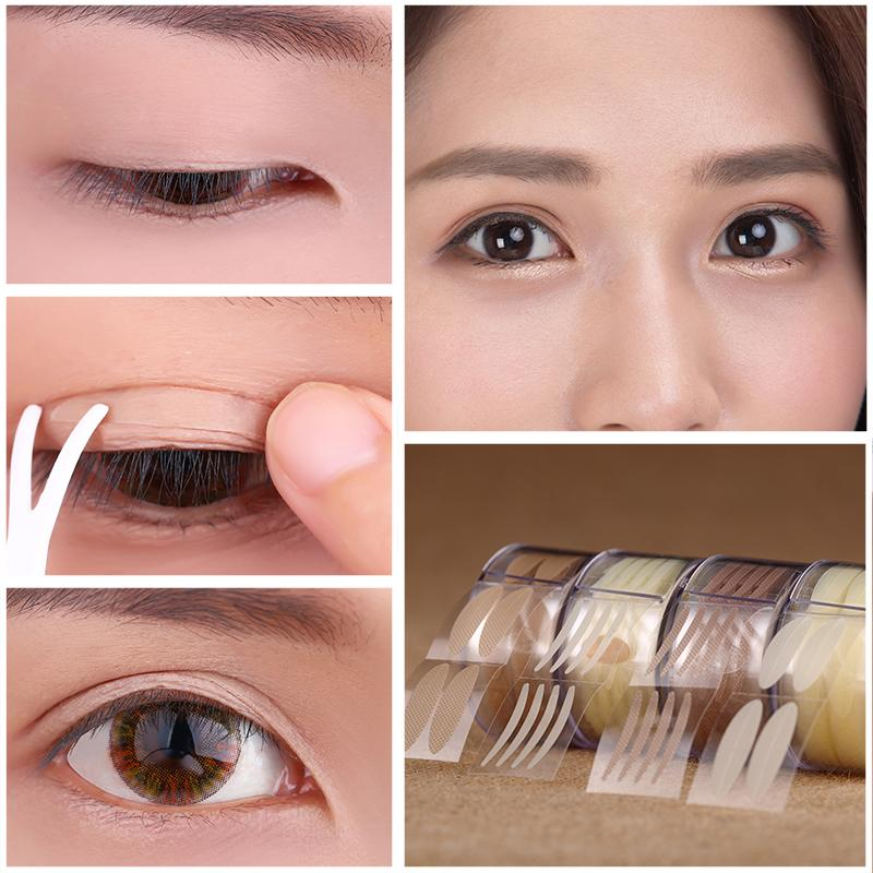 Wholesale Natural Double Eyelid Sticker Skin Color Lace Design ...