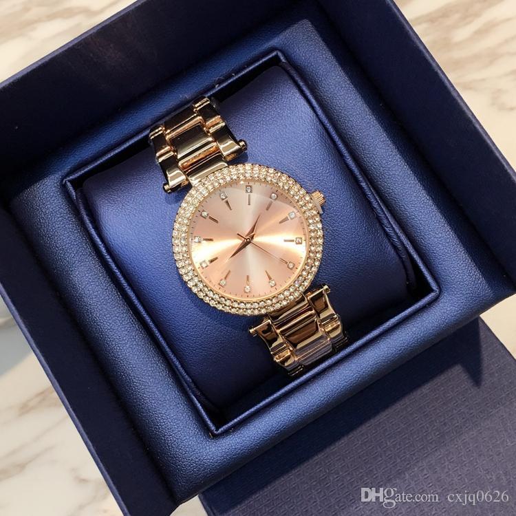 Новая модель 2019 Модные сексуальные женские часы с бриллиантом Браслет из нержавеющей стали женские наручные часы женские часы золото серебро прямая поставка