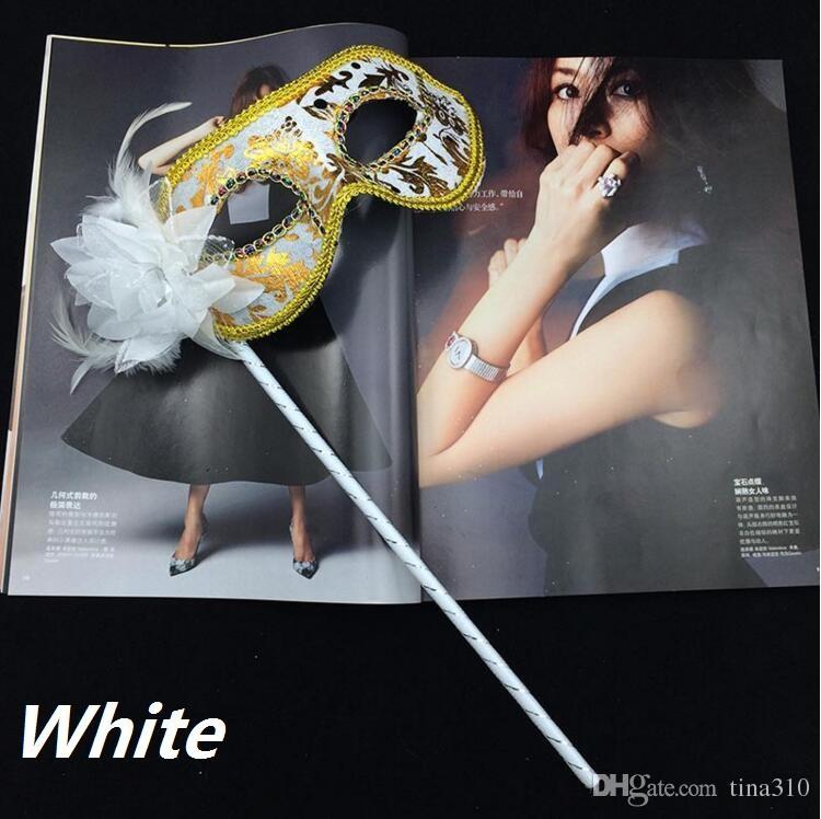 sopa Maske Seksi Cadılar Bayramı Noel dans düğün Partisi New'in Venedikli Yarım yüz çiçek maskesi Masquerade Partisi I048 Maske