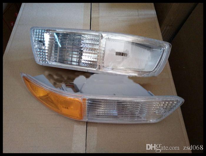 للفترة 1998-1999 تويوتا RAV4 سيارة الجبهة السيارات الوفير المتبقي يمين مصابيح الضباب القيادة الإسكان أبيض أصفر غطاء المصباح الإسكان