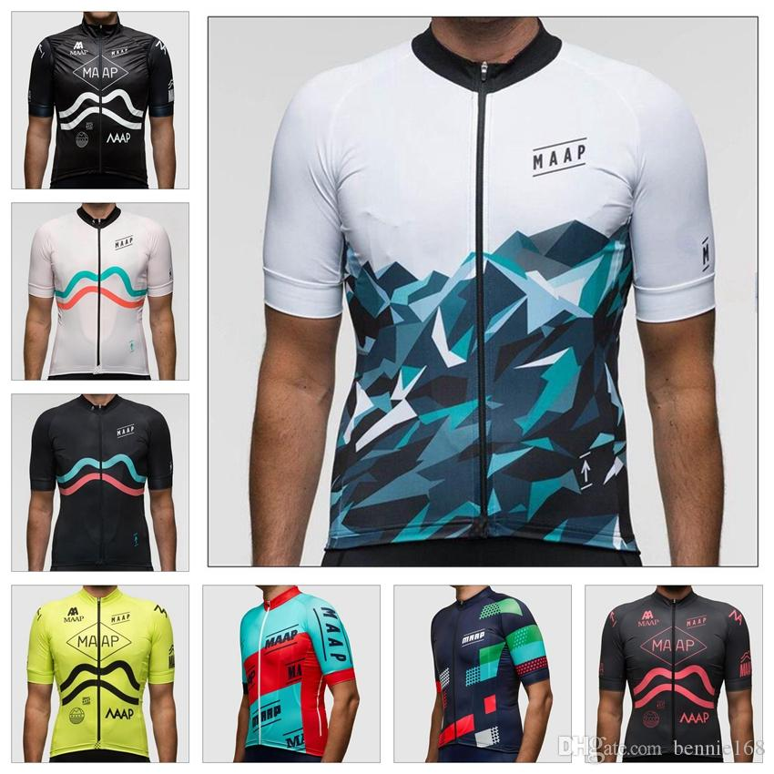 2017 Wholesale Photo Color MAAP Cyling Jerseys Men s Team Cycling ... c8036eebe