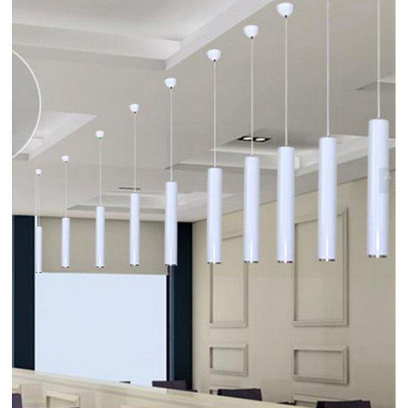 Discount Led Pendant Lights Lamp Kitchen Island Dining Room Bar Counter Cylinder Pipe Nordic Dome Aluminum Ceiling Modern Light Factory Track Lighting