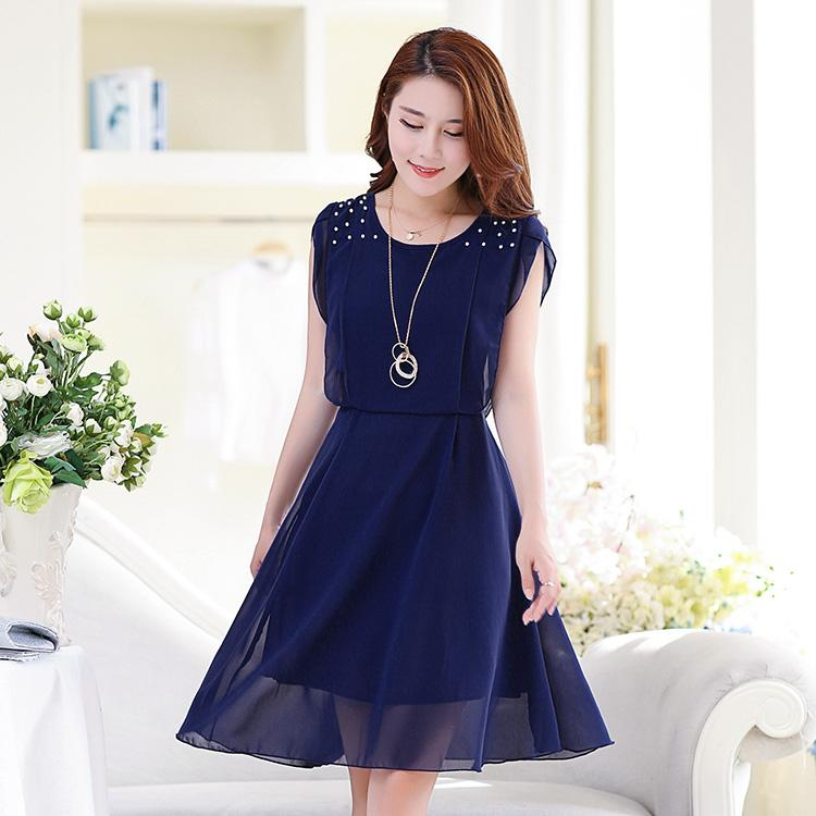 Casual Short Chiffon Dresses