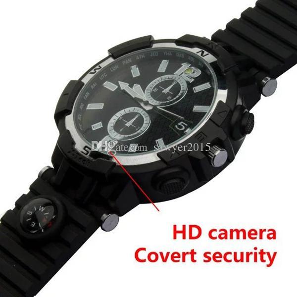 8 GB 16 GB Wireless WIFI Guarda telecamera di rete HD 720p Guarda videoregistratore DVR Pinhole Videocamera con rilevazione del movimento Visione notturna IR