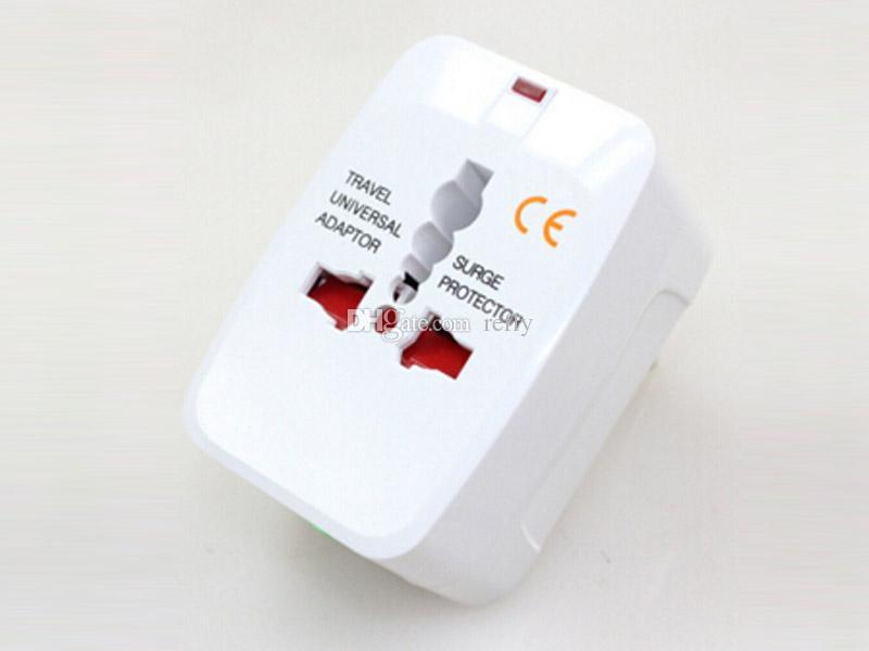 Todo en uno Adaptador de enchufe internacional universal Adaptador de cargador de corriente alterna de viaje mundial con AU US UK Convertidor de la UE Enchufe