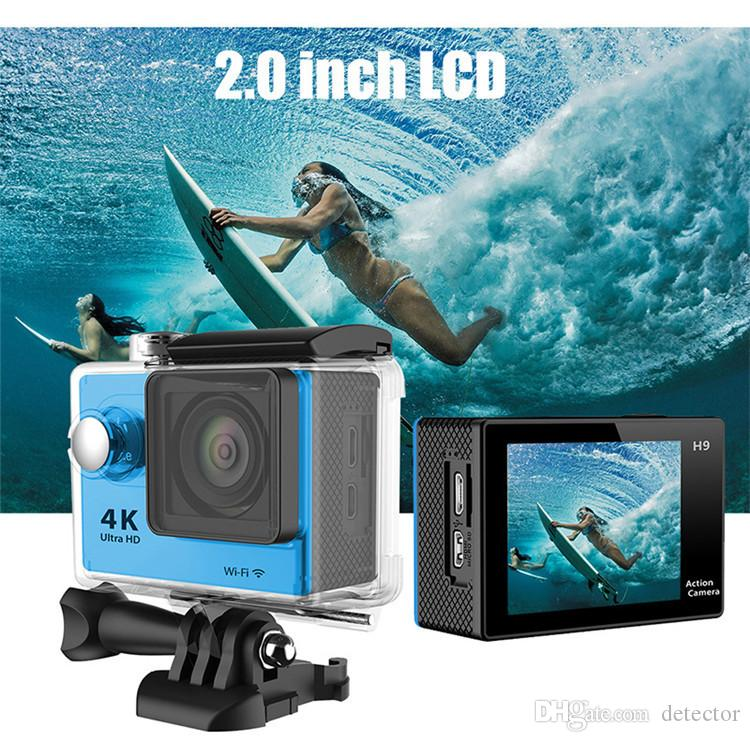 Action camera EKEN H9 Ultra HD 4K WiFi 1080P/60fps 2.0 LCD 170D lens Helmet Cam underwater waterproof camera SJ 4000 style