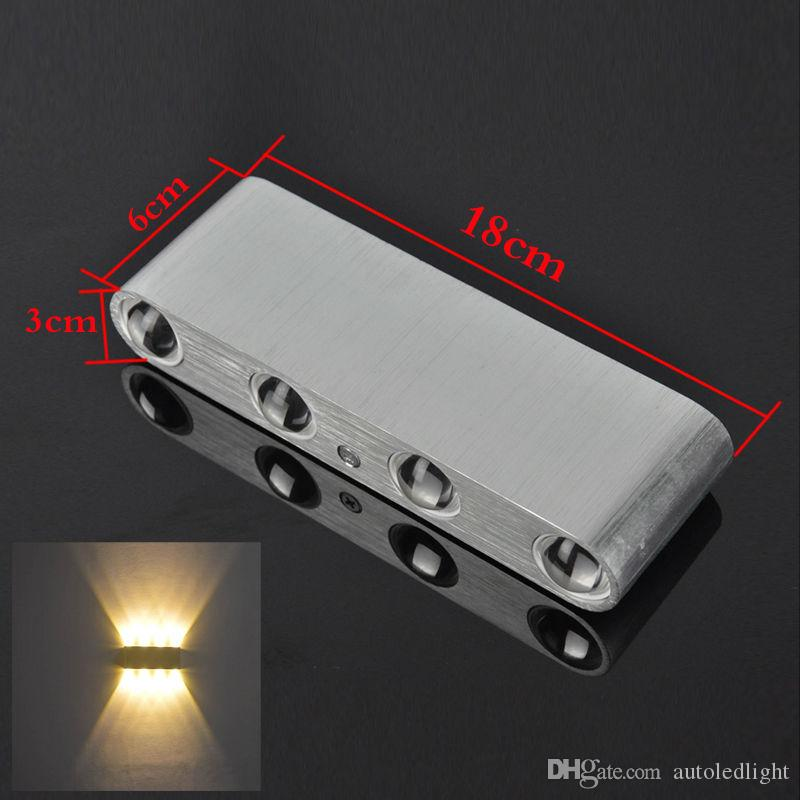 LED Wall Light Up/Down Sconce Lighting Living Room Beside Fixture Led wall light 12W 1000lm AC85-265V modern aluminum lamp