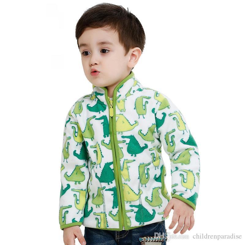 2017 весна осень зима дети шубы теплые мальчики куртки мода толстые флис верхняя одежда Enfant одежда