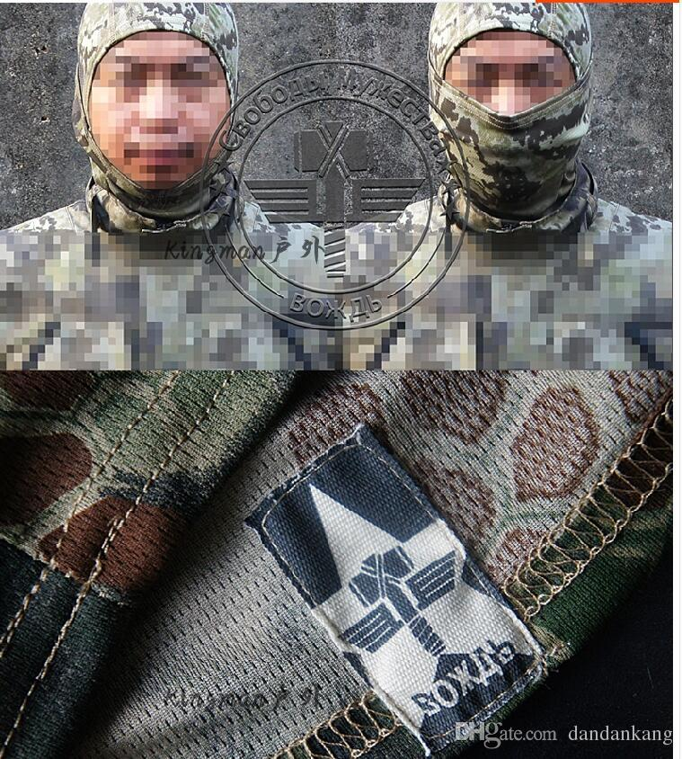 capuchas Camuflaje magia de ciclo táctico gorras Máscara al aire libre bufanda mágica pañuelos bandas para la cabeza turbante militares aptitud que se ejecuta tapa de equitación máscara
