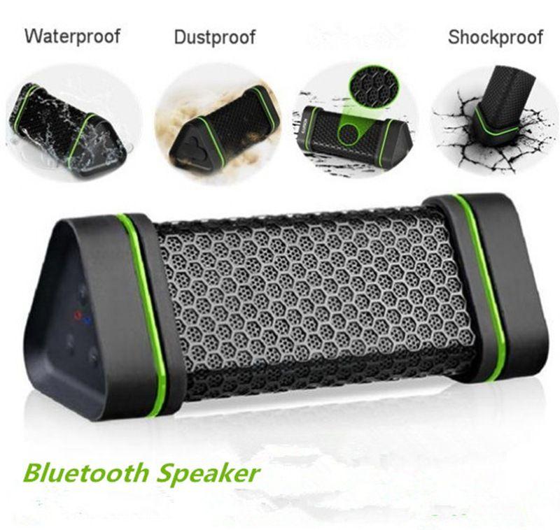 nouveaux ER151 sans fil Bluetooth voiture maison 4W haut-parleurs stéréo, haut-parleur antichoc étanche à la poussière pour iphone6 samsung S6 iPod US01