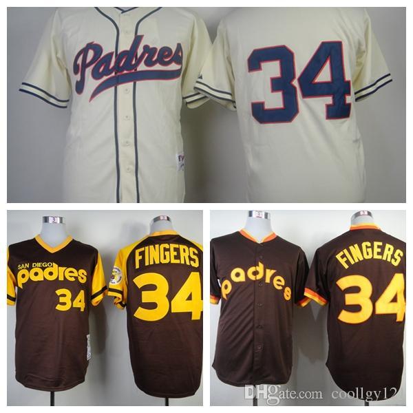 timeless design c544e 10373 34 rollie fingers jersey