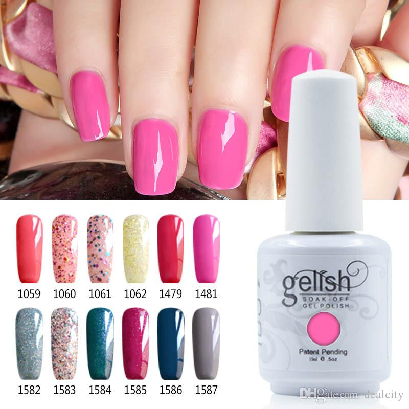 New Gelish Nail Polish Soak Off Uv Led Gel Solid Pure Uv Gel Nail ...