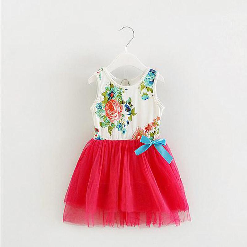 75044a77927 2019 Wholesale Lace Baby Girls Dress Summer BabyDress Bows Clothing Lace  Tutu Party Dresses 1 Year Birthday Dress From Sophine14