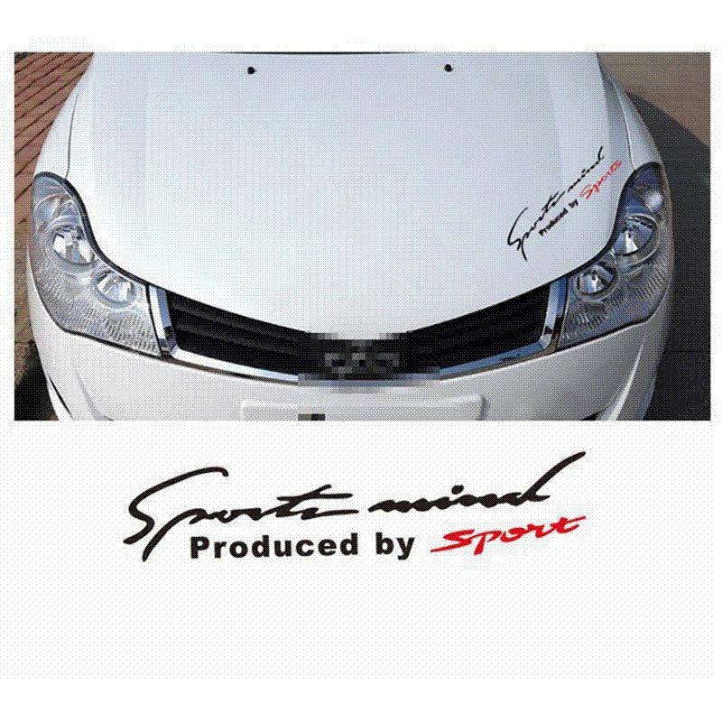 2019 Racing Pattern Car Styling Glue Sticker Sport Design For