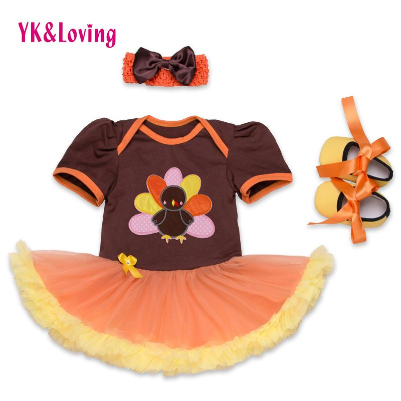 Wholesale Newborn Thanksgiving Outfits Baby Girl Clothes Orange Cute Turkey  Tutu Dress Shoes Infant Toddler Baby Clothing Set UK 2019 From Babymom 22e51b6a7b11