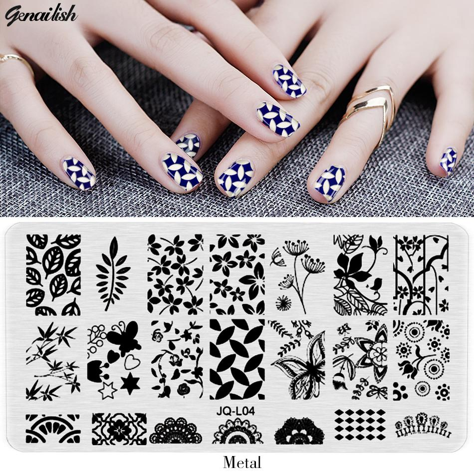 Jql nail stamping plates stencils for nails art lace flower animal jql nail stamping plates stencils for nails art lace flower animal pattern templates for gel polish nail designs stickers nail polish sticker from super002 prinsesfo Choice Image