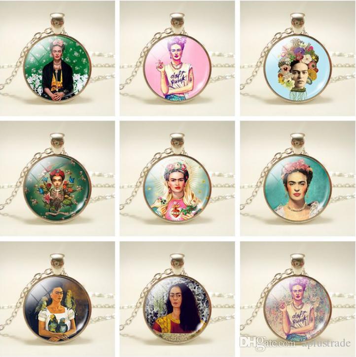 Wholesale Wholesale Mexico Artist Frida Kahlo Pendant ...