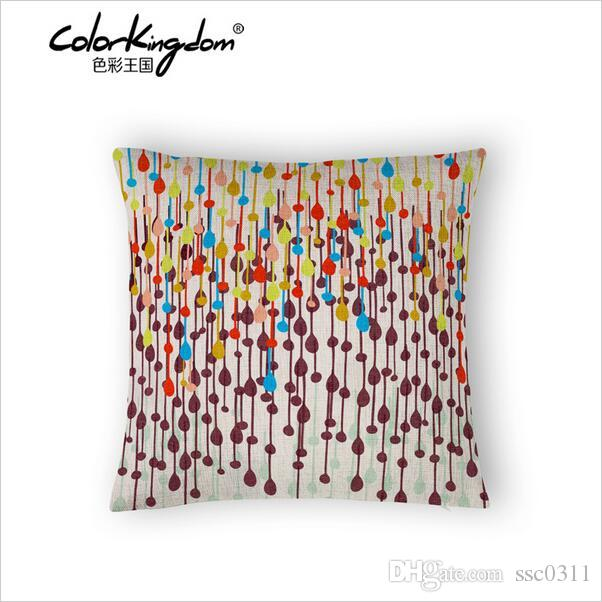 On Sale 45cm45cm Nordic Symphony Dot Fashion Pillow Cushions Home