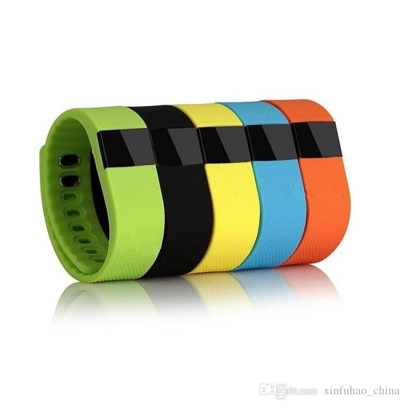 FITBIT TW64 New 12 colors wristband Smart Band Fitness Activity Tracker Bluetooth 4.0 Smartband Sport Bracelet for IOS & Android Cellphone