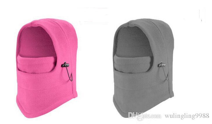 Caixas de terrorismo do contador impermeável engrossado engrossado vestindo earmuffs chapéu Balaclava face máscara lenço inverno vento e tigre hat moq