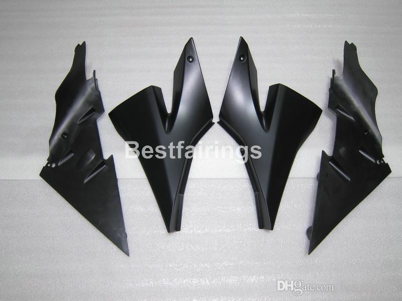 핫 판매용 플라스틱 가와사키 닌자 ZX10R 용 페어링 키트 04 05 검은 색 페어링 세트 ZX10R 2004 2005 YT16