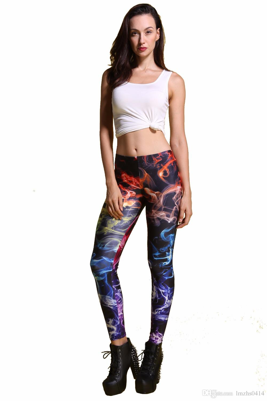 Compre Nadanbao Wholelsales Nuevas Mujeres Leggings 3d Leggins De Color Impreso Ray Fluorescencia Leggins Pantalones Legging Para Mujer A 39 43 Del Lmzhs0414 Dhgate Com
