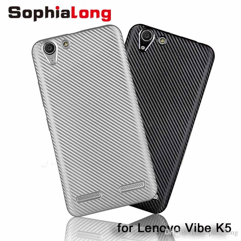 buy popular 083ad e6d07 Soft Cover for Lenovo Vibe C2 K5 Plus Case for Lenovo K5 K10A40 A6020 Back  Cover Phone Bags VIBE K5 5 inch Caps