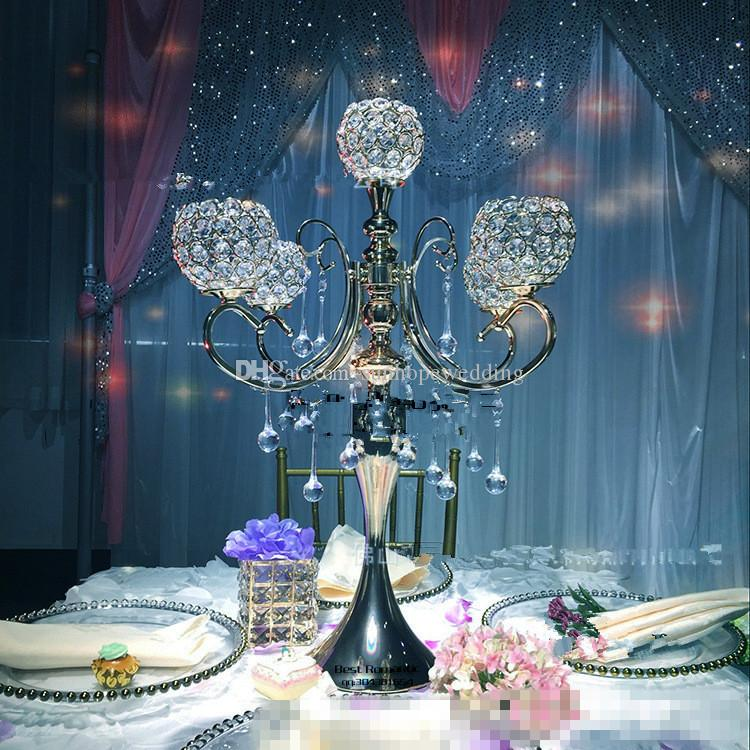 crystal table top chandelier centerpieces for weddings , crystal centerpieces for wedding table wholesale