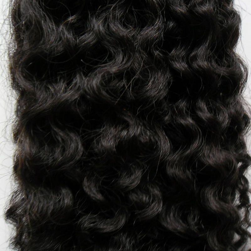 인간의 머리 확장 아프리카 변태 곱슬 마이크로 링크 인간의 머리 확장 블랙 100 그램 브라질 변태 곱슬 마이크로 구슬 머리 확장 100 초