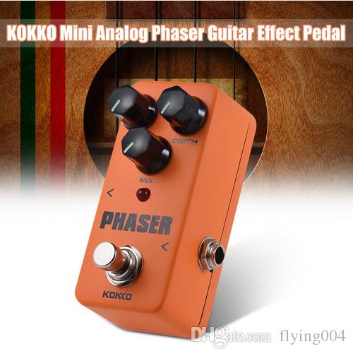 free shipping FPH2 Mini Guitar Amplifier OD Effect Pedal Orange True Mini Pedal phaser Guitarra Pedal Efectos Calidad Portatil Guitar Part