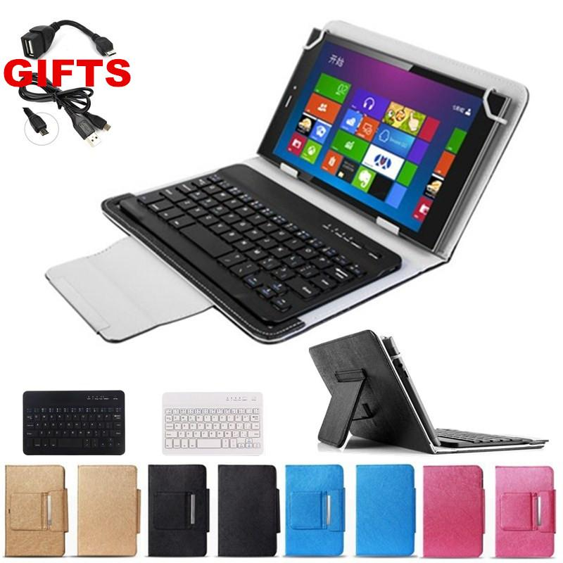 Wholesale-2 Gifts 7 9 Inch Universal Bluetooth Keyboard Case for NVIDIA  SHIELD Tablet Keyboard Language Layout Customize FreeShipping