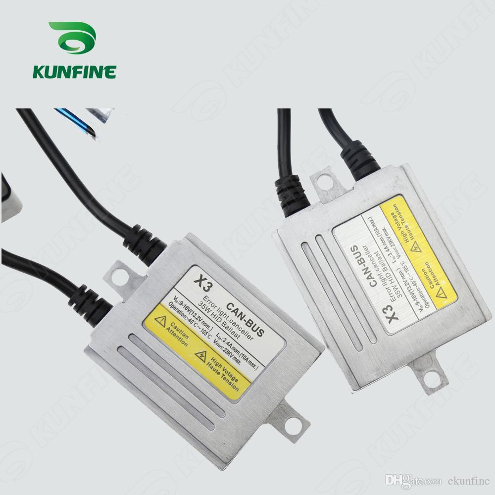 12V/35W X3 Canbus HID Conversion Xenon Kit D2S Xenon Bulb Car HID Headlight with Slim AC Ballast For Vehicle KF-K2003-D2S